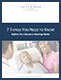 7 THINGS YOU NEED TO KNOW Before You Choose a Nursing Home
